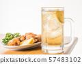 하이와 닭고기 튀김 57483102
