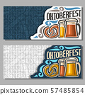 Vector banners for Oktoberfest 57485854