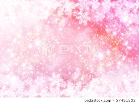 粉紅色的雪模式 57491805
