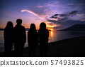 Shikotsu湖人們看日出 57493825