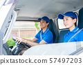 Driver truck delivery business delivery business image 57497203