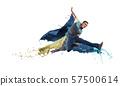 Dancer in jump 57500614