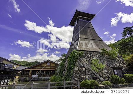 성시 이즈 辰鼓楼 누각 시계탑 효고현 토요 오카시 이즈 쵸 57510575