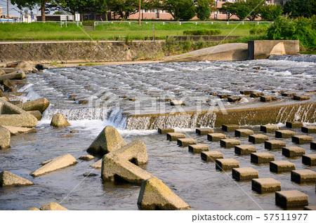강 배경 소재 자연수 57511977