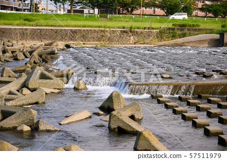 강 배경 소재 자연수 57511979