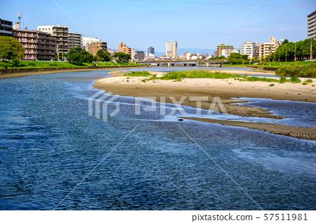 강 배경 소재 자연수 57511981