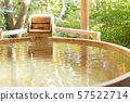 戶外浴室日式溫泉形象 57522714