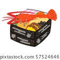 Osechi與伊勢蝦,重白色 57524646