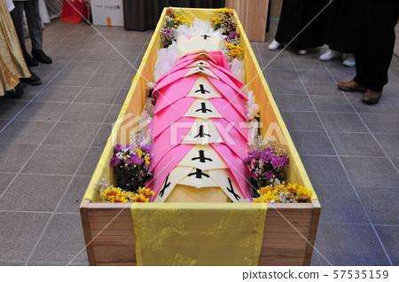 한국의 장례 문화 입관 의식 57535159