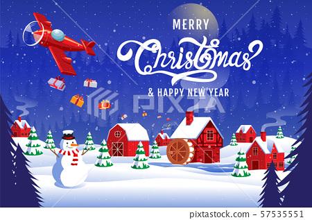 Merry Christmas, happy new year 2020 , 57535551