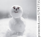 Snowman character 57547735
