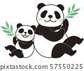 竹子和Oyako熊猫 57550225