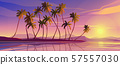 Panoramic seascape view picturesque marine scenery Vacation, holidays and travel. 57557030