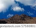 朝霧高原에서 볼 毛無山 산정과 패러 글라이딩 57560801