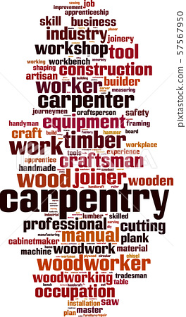 Carpentry word cloud 57567950