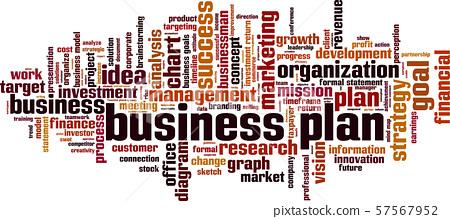 Business plan word cloud 57567952