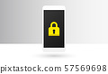 Smartphone locked 57569698