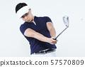 골프 플레이어 남성 57570809