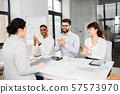 recruiters having job interview with employee 57573970