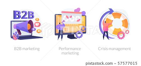 digital marketing vector concept metaphors stock illustration 57577015 pixta digital marketing vector concept