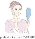 여성 _ 스킨 케어 거울 2 57594909