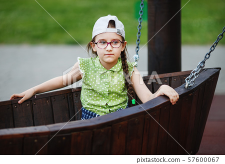 Girl on the playground 57600067