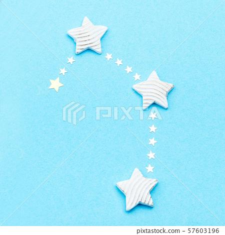 Zodiac constellation Libra 57603196