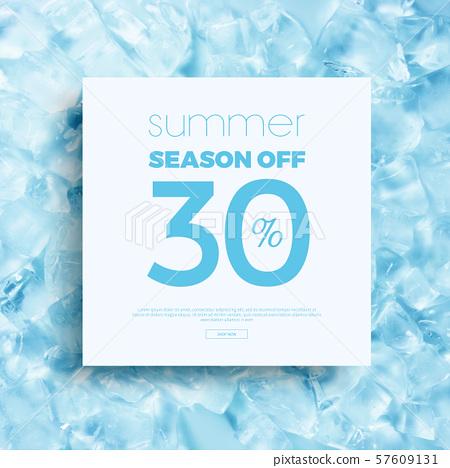 여름,세일,배경,템플릿 57609131