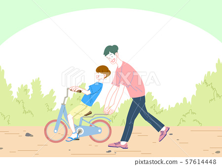 Concept of a happy and loving family vector illustration 007 57614448