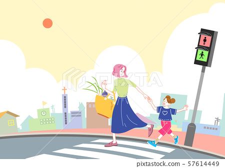 Concept of a happy and loving family vector illustration 006 57614449