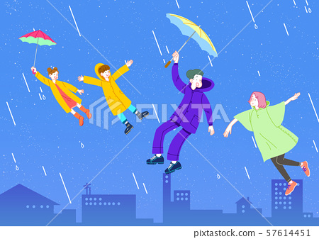 Concept of a happy and loving family vector illustration 004 57614451