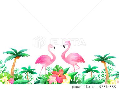 Concept of summer pattern design illustration 044 57614535