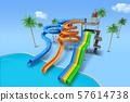 Aquapark 3d render graphic design 010 57614738