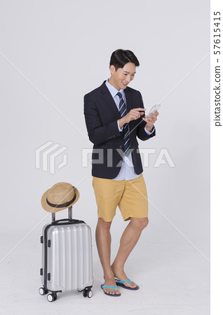Summer holiday of attractive couple 143 57615415