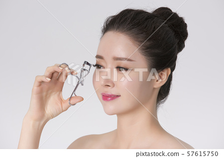 Portrait of Beautiful Young Woman 234 57615750