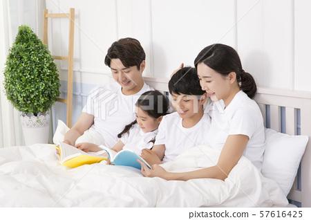 Happy and loving family 378 57616425