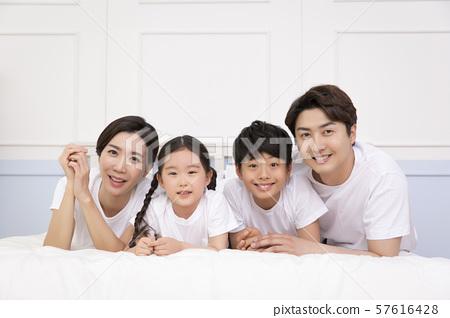 Happy and loving family 363 57616428