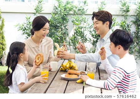 Happy and loving family 305 57616462