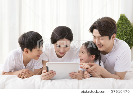 Happy and loving family 376 57616470