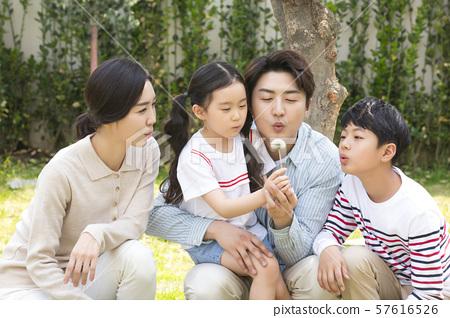 Happy and loving family 310 57616526