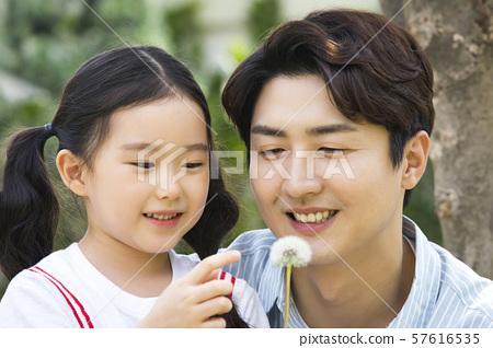 Happy and loving family 306 57616535