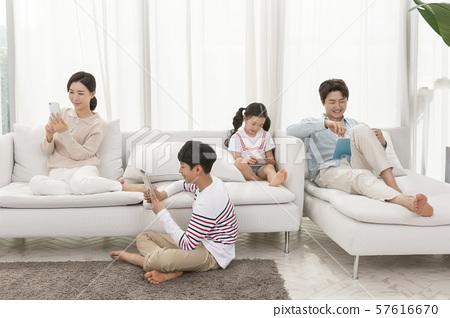 Happy and loving family 175 57616670