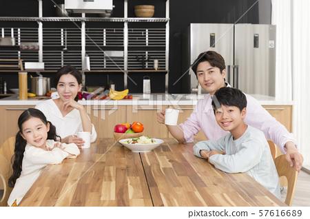 Happy and loving family 199 57616689