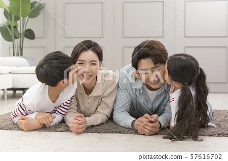 Happy and loving family 191 57616702