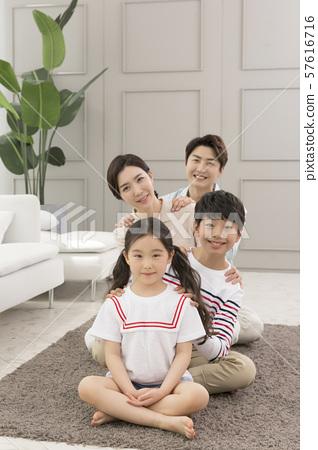 Happy and loving family 161 57616716