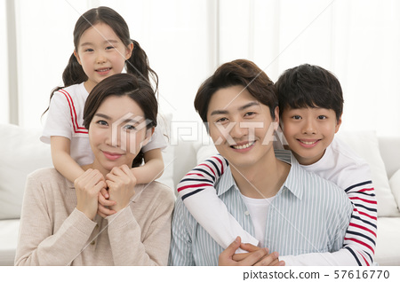 Happy and loving family 144 57616770