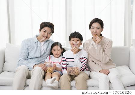 Happy and loving family 081 57616820