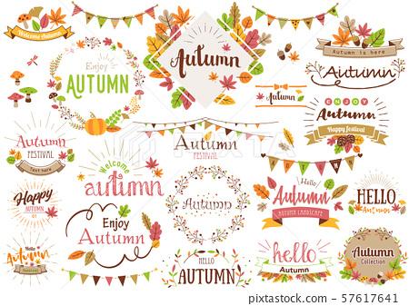 秋季標題字母2 57617641