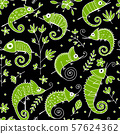 Chameleon collection, seamless pattern for your design 57624362