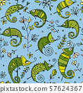 Chameleon collection, seamless pattern for your design 57624367